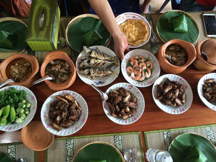 Almoço no Ecomuseu de Chang Tune, Trat, Tailândia © Viaje Comigo