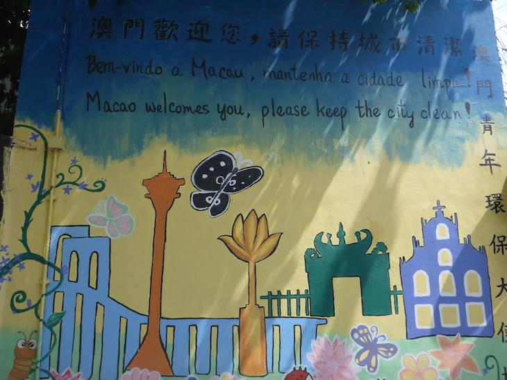 Bem-vindo a Macau © Viaje Comigo