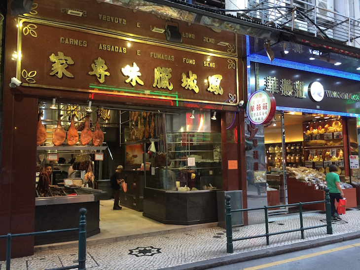 Lojas ainda têm designação em português - Macau © Viaje Comigo