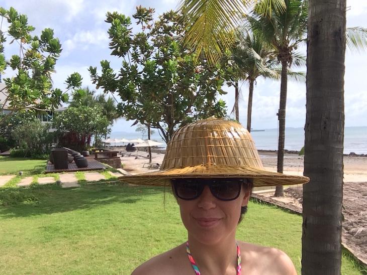 O chapéu que trouxe de Trat © Viaje Comigo