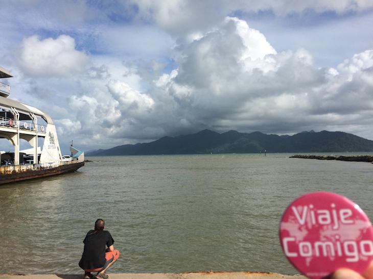 Ferry e Ko Chang © Viaje Comigo