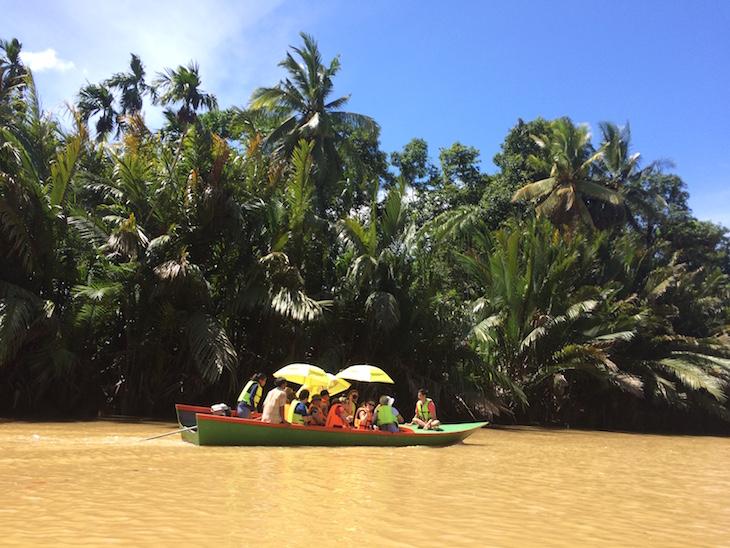 De barco no Huai Raeng, Trat, Tailândia © Viaje Comigo