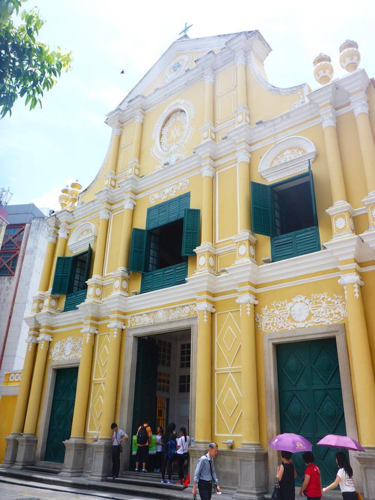Igreja de S. Domingos, Macau © Viaje Comigo