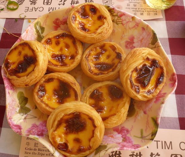 Natas do Lord Stow'ss Bakery Macau © Viaje Comigo