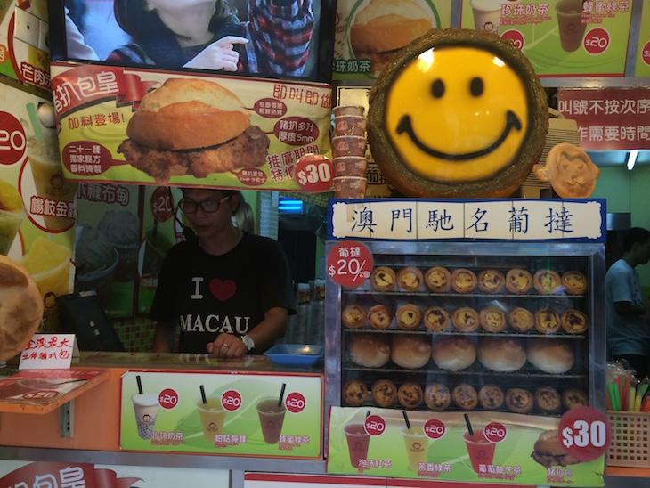 Pastel de nata em Macau © Viaje Comigo