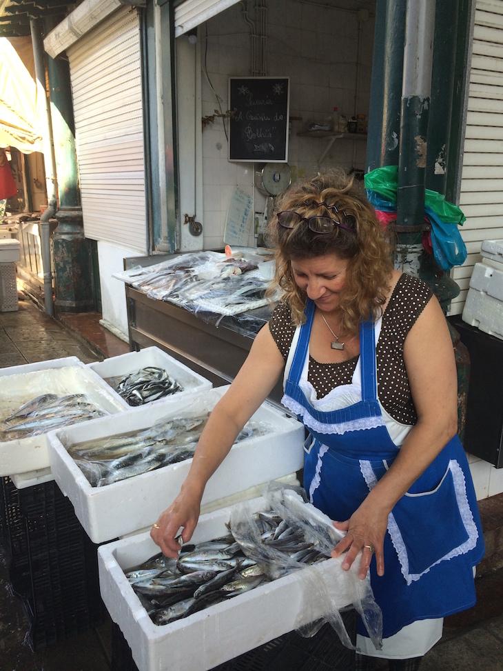 Peixe no Mercado do Bolhão, Porto © Viaje Comigo