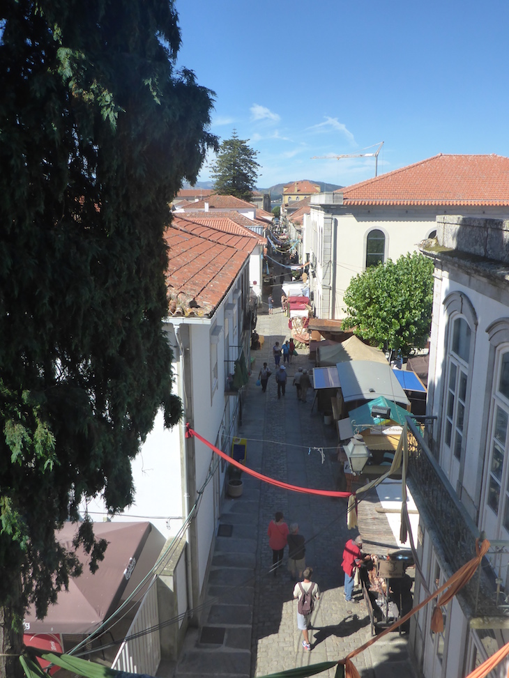 Rua Direita vista da Torre do Relógio- Caminha ©Viaje Comigo
