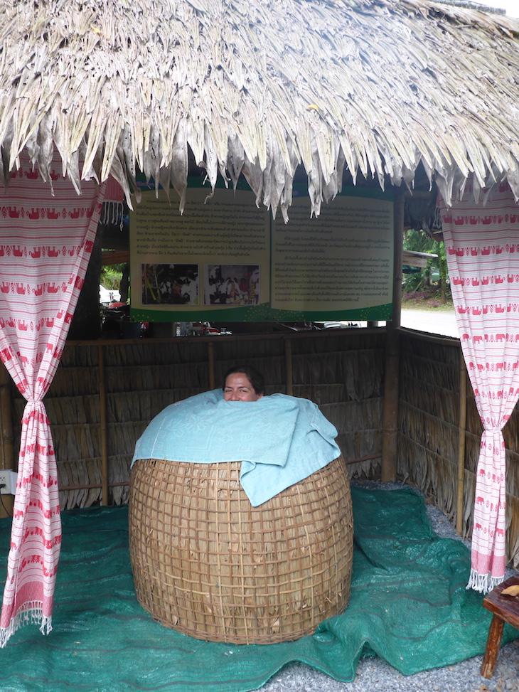 """Sauna """"caseira"""" em Trat, Tailândia © Viaje ComigoSauna """"caseira"""" em Trat, Tailândia © Viaje Comigo"""