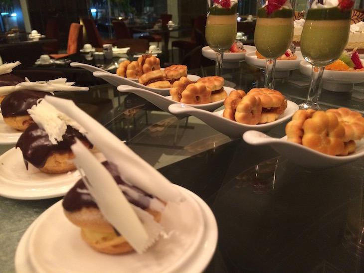 Jantar no Pathumwan Princess Hotel © Viaje Comigo