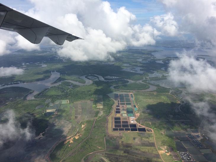 Trat visto do avião © Viaje Comigo