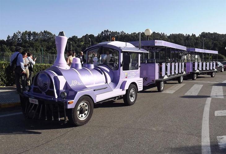 Trem turístico entre Minho e Gaiiza - Direitos Reservados CM Monção