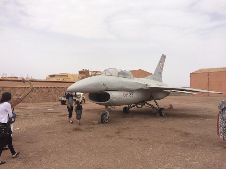"""Avião """"Jóia do Nilo"""", Estúdios Atlas, Ouarzazate, Marrocos © Viaje Comigo"""