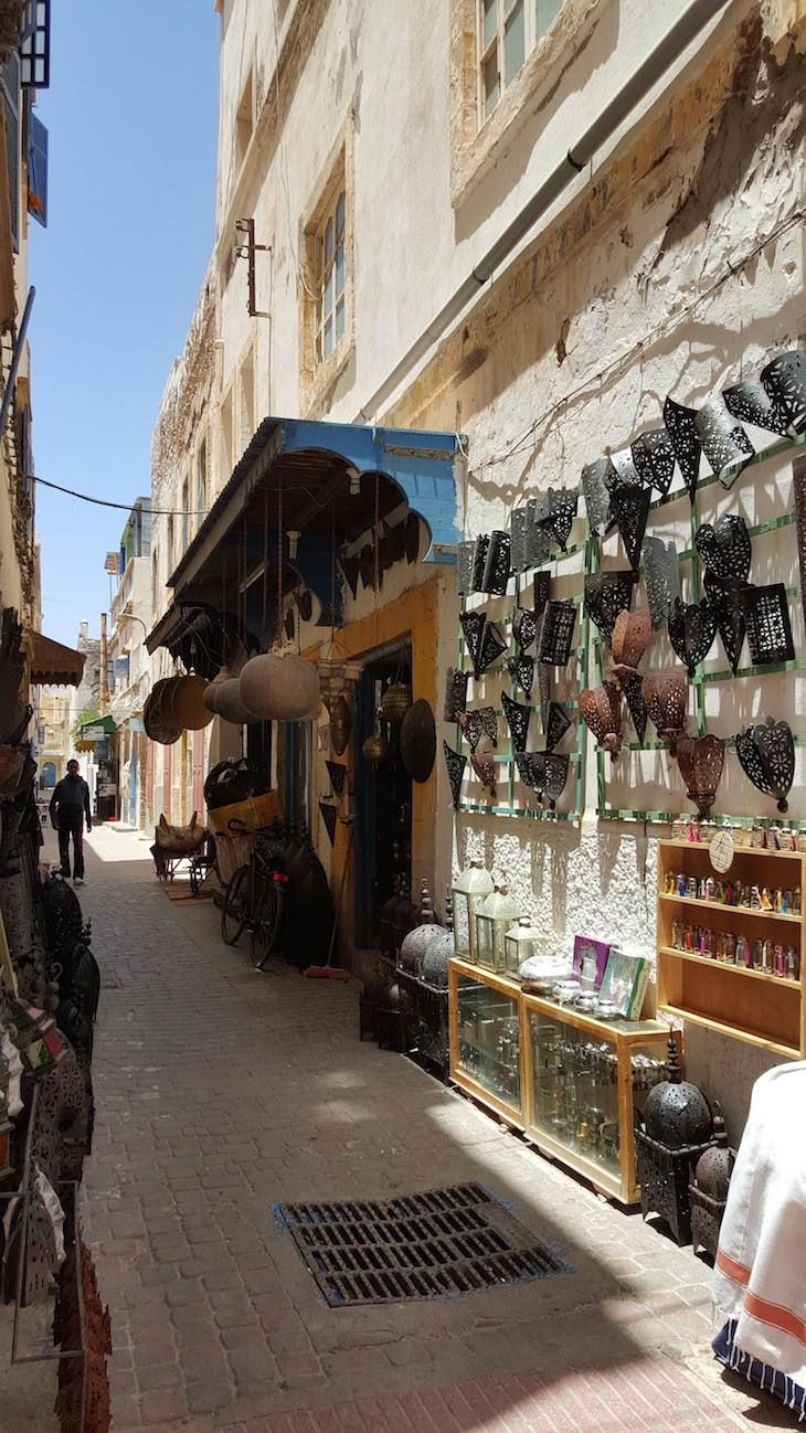 Compras em Essaouira - Marrocos © Viaje Comigo