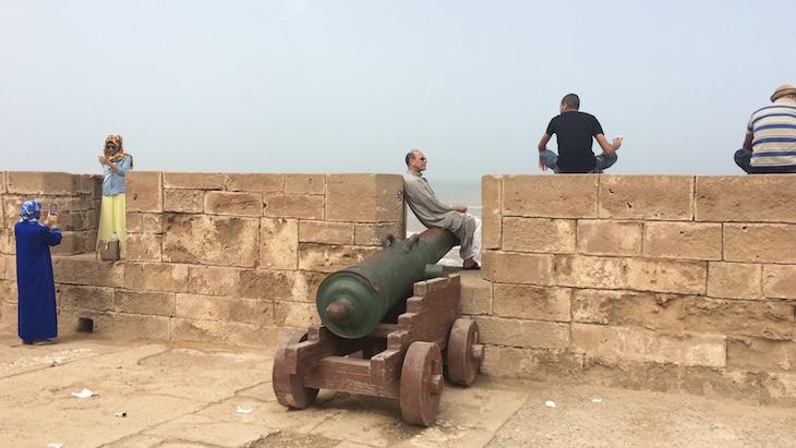 Canhões em Essaouira © Viaje Comigo