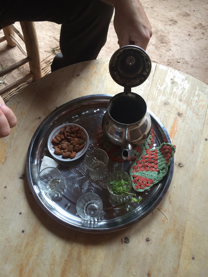 Chá na Casa Berbere, no Ksar Ait-Ben-Haddou © Viaje Comigo