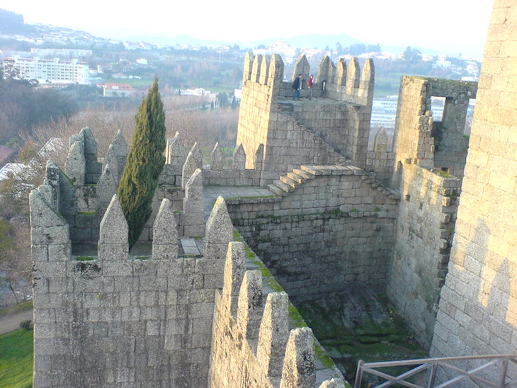 Castelo de Gumarães © Viaje Comigo