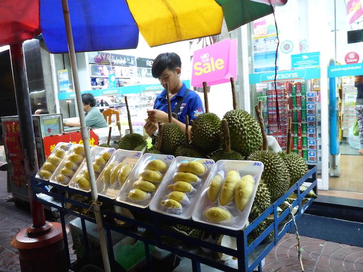 Durian, Chinatown, Banguecoque © Viaje Comigo