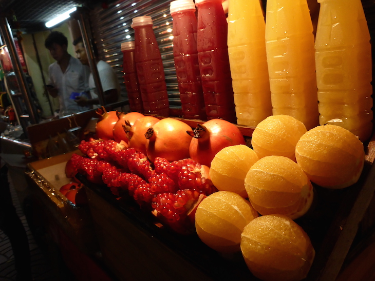 Sumos naturais, Chinatown, Banguecoque © Viaje Comigo