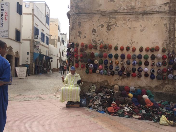 Compras em Essaouira © Viaje Comigo