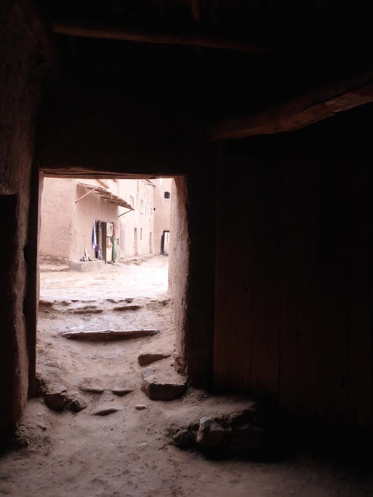 Entrada e saída do Museu no Ksar Ait-Ben-Haddou © Viaje Comigo