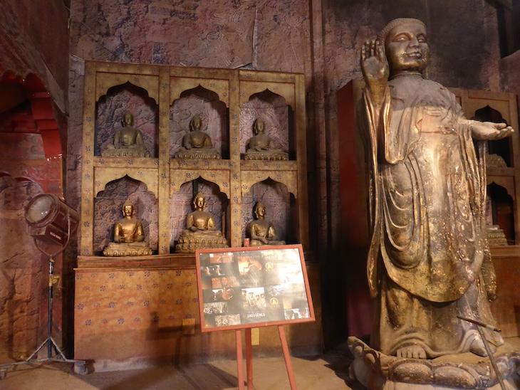 Estátua Kundun - Estúdios Atlas, Ouarzazate, Marrocos © Viaje Comigo