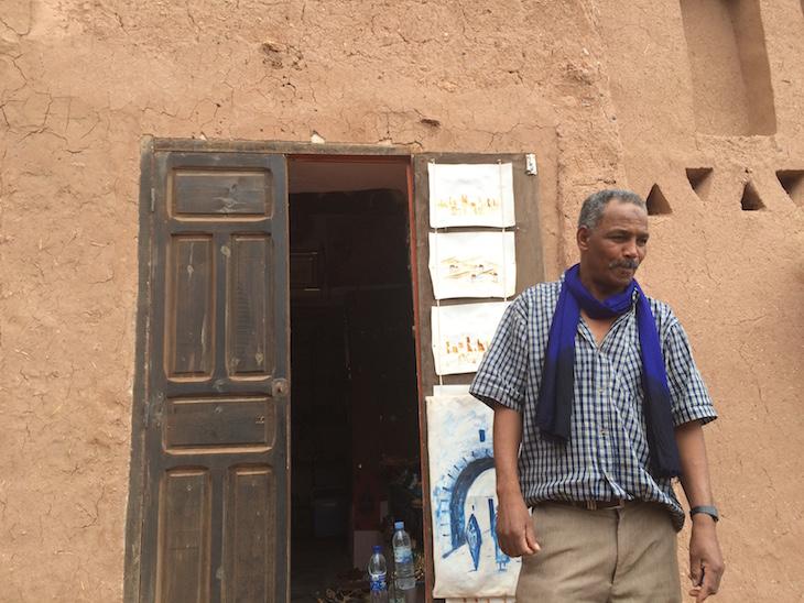 Hamid: casa berbere em Ait-Ben-Haddou © Viaje Comigo