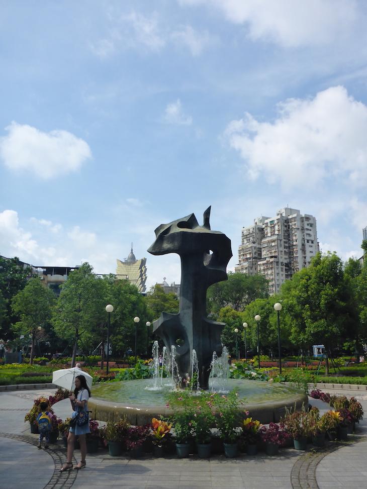 Jardim de Camões - Macau © Viaje Comigo