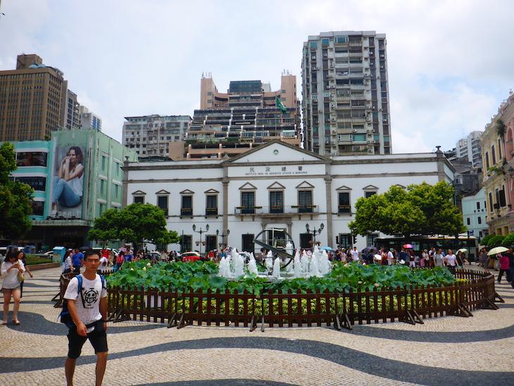 Largo do Senado, Macau © Viaje Comigo