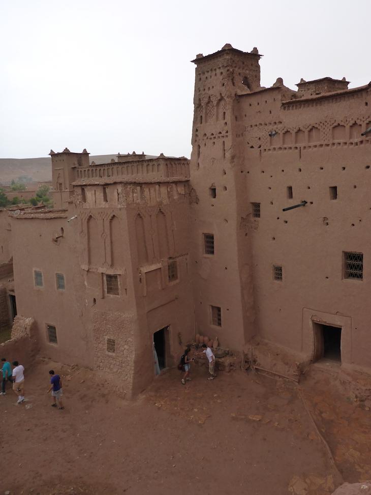 Vista do telhado, no Ksar Ait-Ben-Haddou © Viaje Comigo