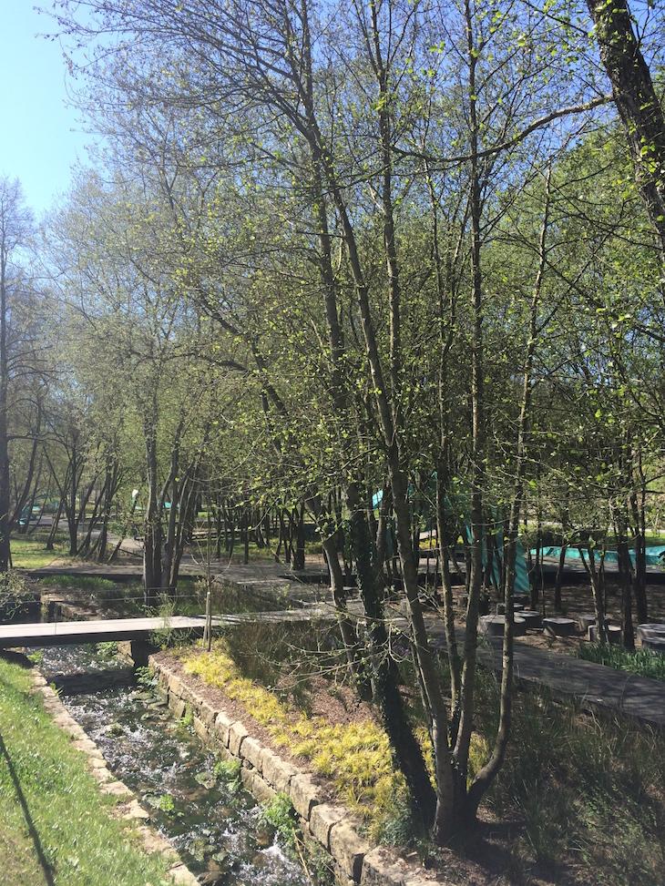 Parque da Ribeira do Matadouro, Santo Tirso © Viaje Comigo