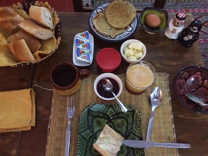 Pequeno-almoço no Dar Rita © Viaje Comigo