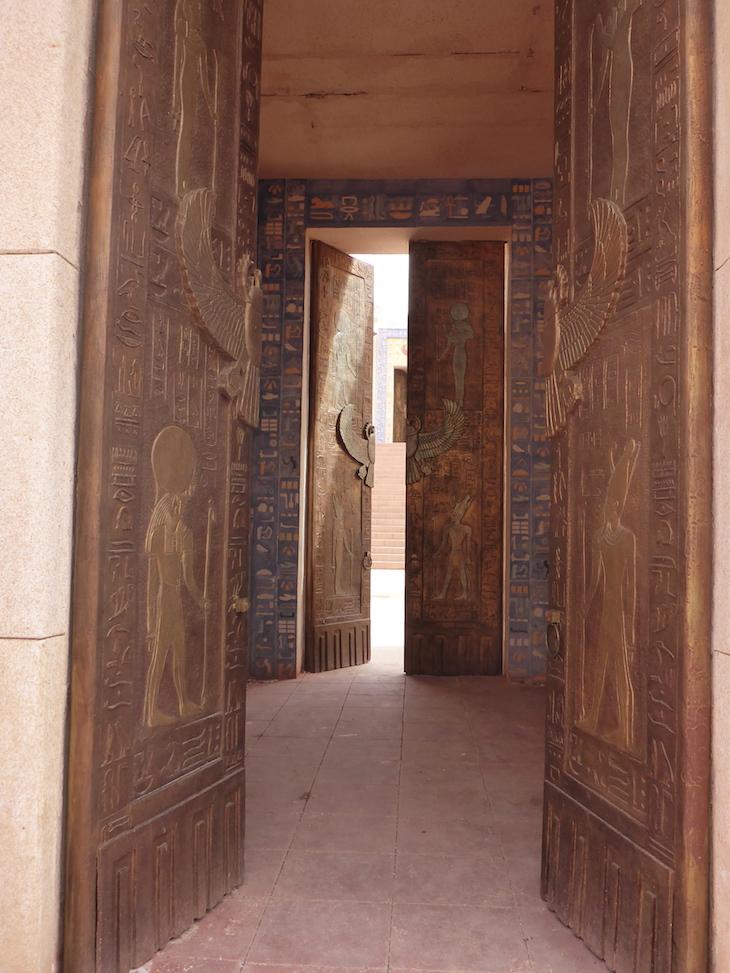 Portas Estúdios Atlas, Ouarzazate, Marrocos © Viaje Comigo