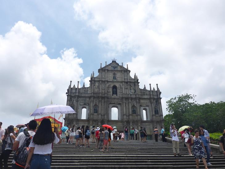 Ruínas de São Paulo, Macau © Viaje Comigo