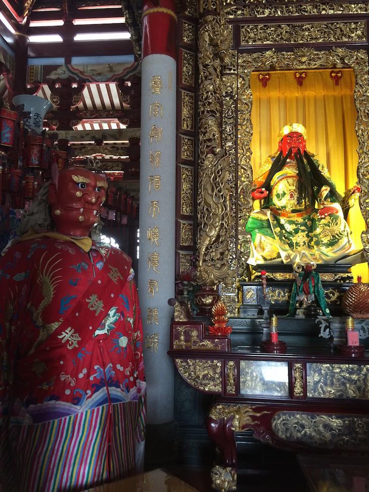 Templo de Ma Cho, Coloane Macau © Viaje Comigo