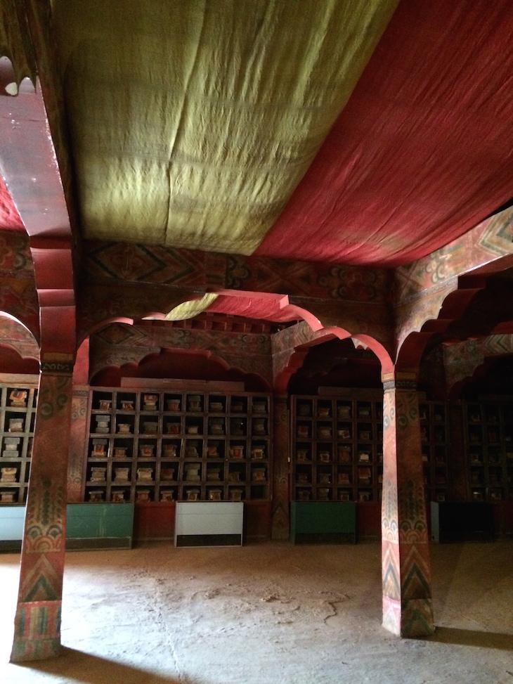 Templo de Kundun - Estúdios Atlas, Ouarzazate, Marrocos © Viaje Comigo