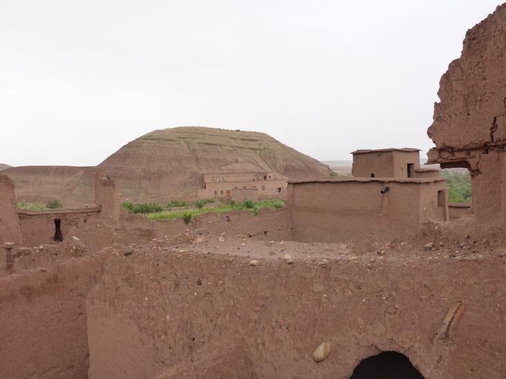 Vista da montanha - Ksar Ait-Ben-Haddou © Viaje Comigo