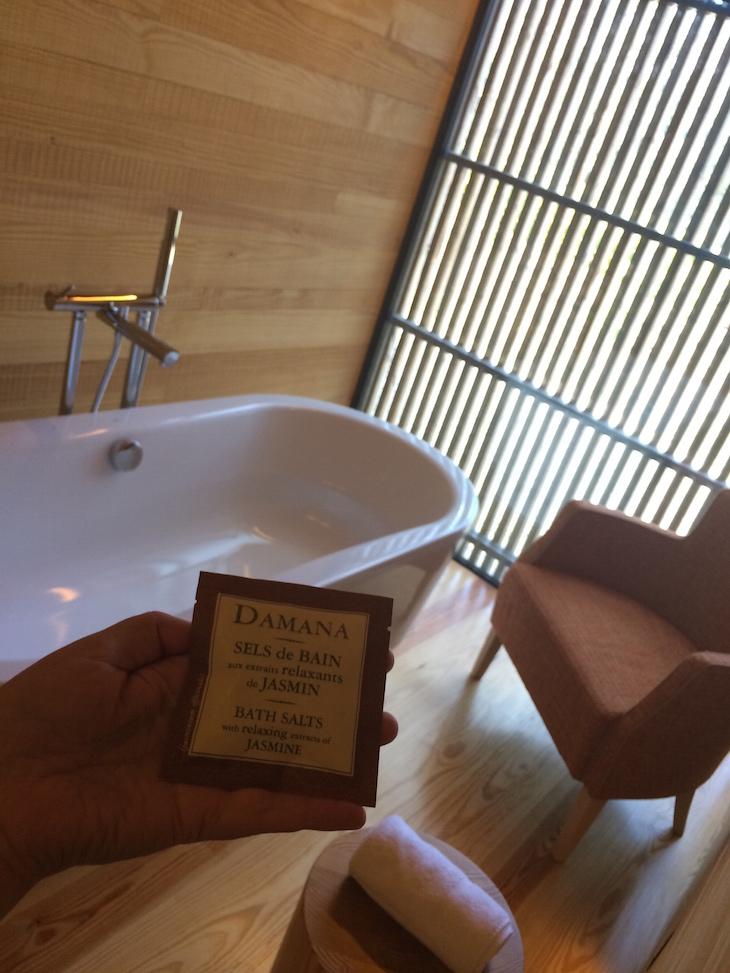 Banheira no Monverde - Wine Experience Hotel © Viaje Comigo