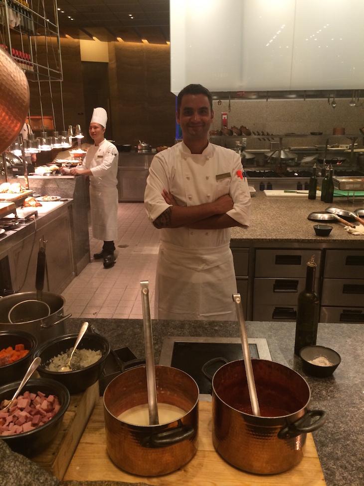 Chef Ivo Benidio Restaurante Rossio no MGM Macau © Viaje Comigo