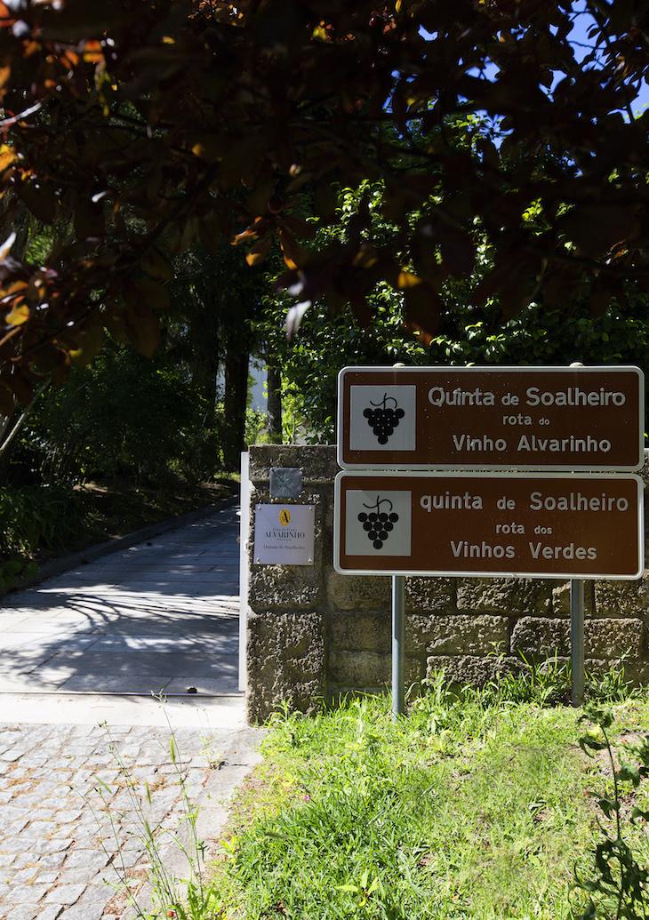 Entrada Adega da Quinta de Soalheiro - DR