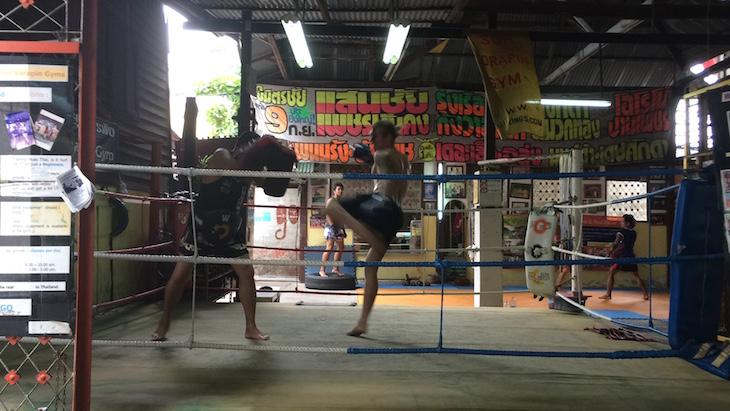 Escola de Muay Thai, Banguecoque © Viaje Comigo