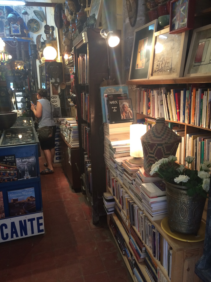Loja de Livros em Essaouira © Viaje Comigo