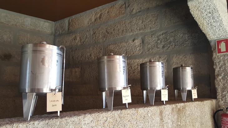 Mini cubas da adega do Monverde - Wine Experience Hotel © Viaje Comigo