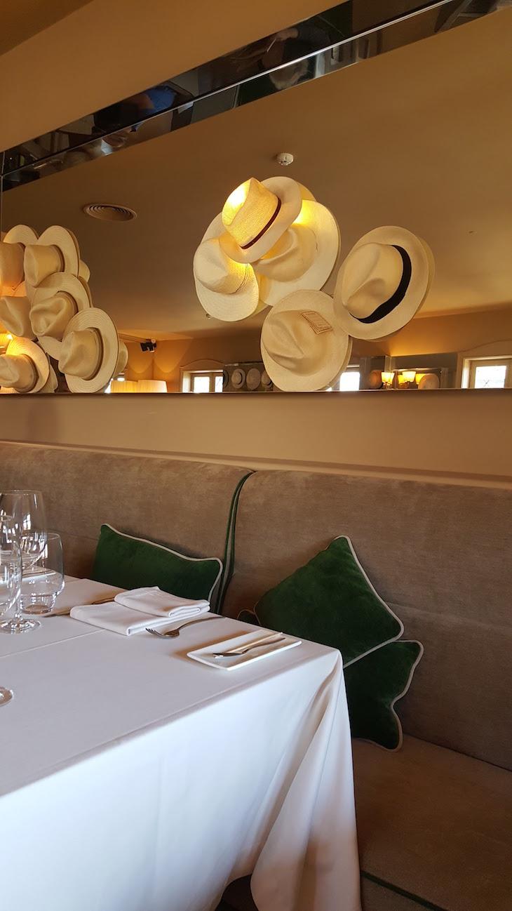 Pormenor de decoração no Restaurante Wish © Viaje Comigo