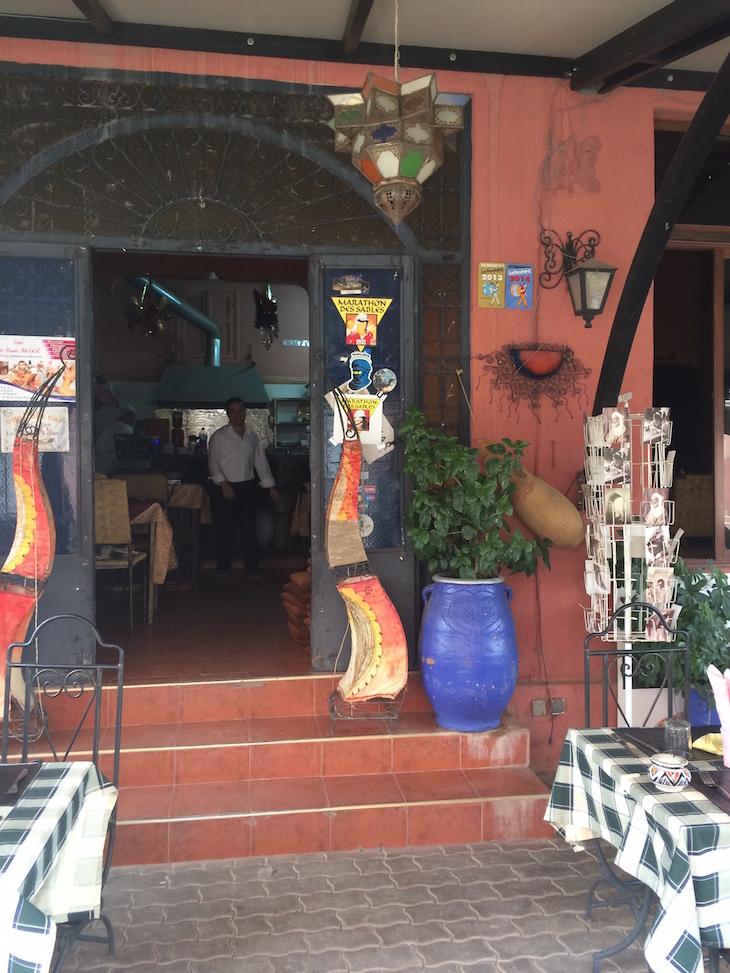 Restaurante La Halte - Ouarzazate © Viaje Comigo