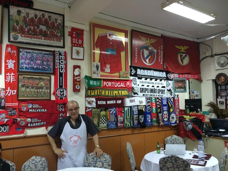 Restaurante O Santos, Macau © Viaje Comigo