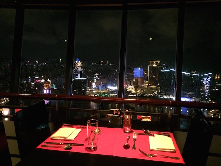 Restaurante 360º Torre Macau © Viaje Comigo