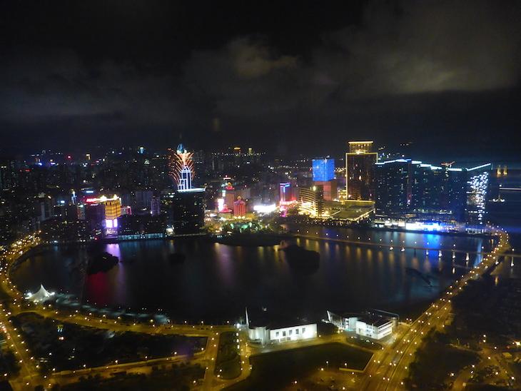 Vista do Restaurante 360º Torre de Macau © Viaje Comigo