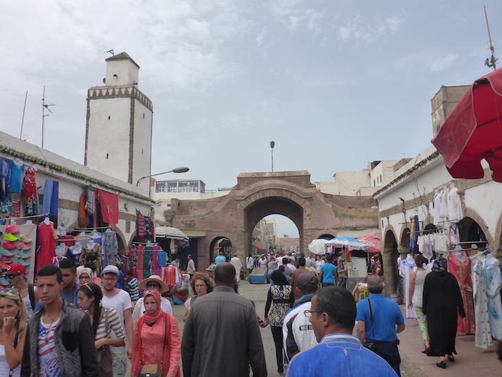 Rua das Compras em Essaouira © Viaje Comigo