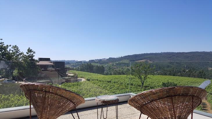 Terraço do quarto no Monverde - Wine Experience Hotel © Viaje Comigo