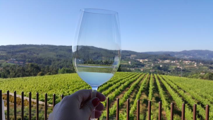 Vinho verde da Quinta da Lixa no Monverde Hotel © Viaje Comigo